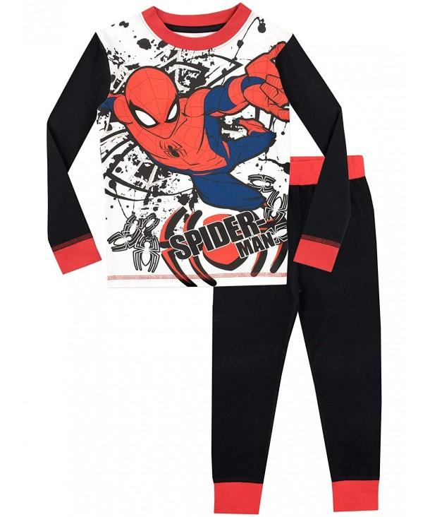 Spiderman Boys Spider Man Pajamas