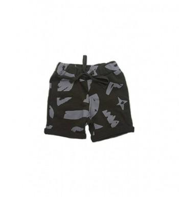 Petit Society Little Olive Shorts