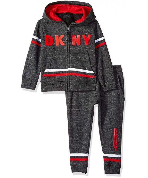 DKNY Avenue Straited Fleece Hoody