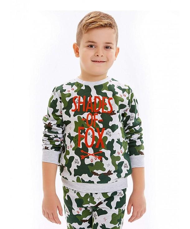 LC Waikiki Sweatshirt Camouflage Pattern