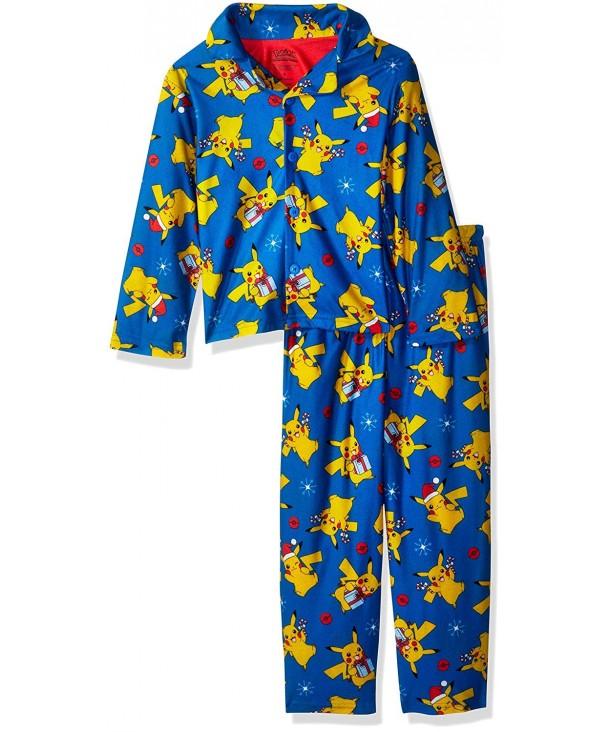 Pok mon Pikachu Holiday 2 Piece Pajama