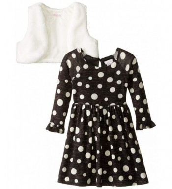 Youngland Little Girls Brushed Sweater