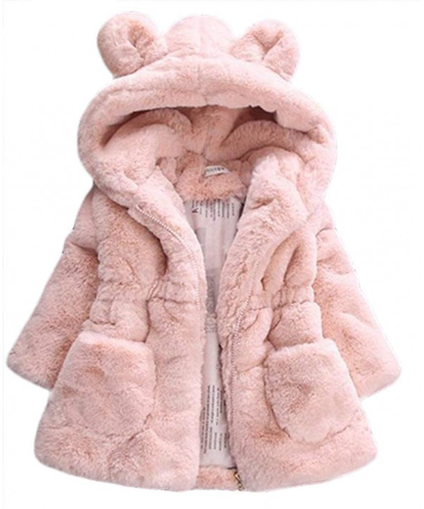 Cartoon Hooded Winter Jackets Outerwear