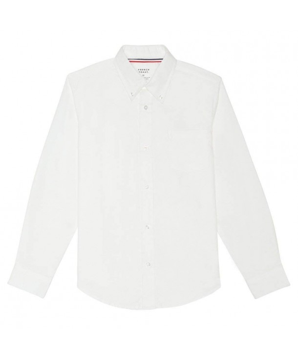 French Toast Sleeve Oxford Shirt
