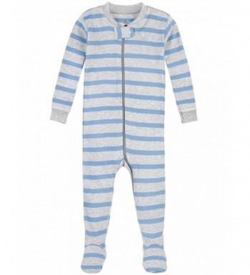 Petit Lem Stripe Footie Pajama