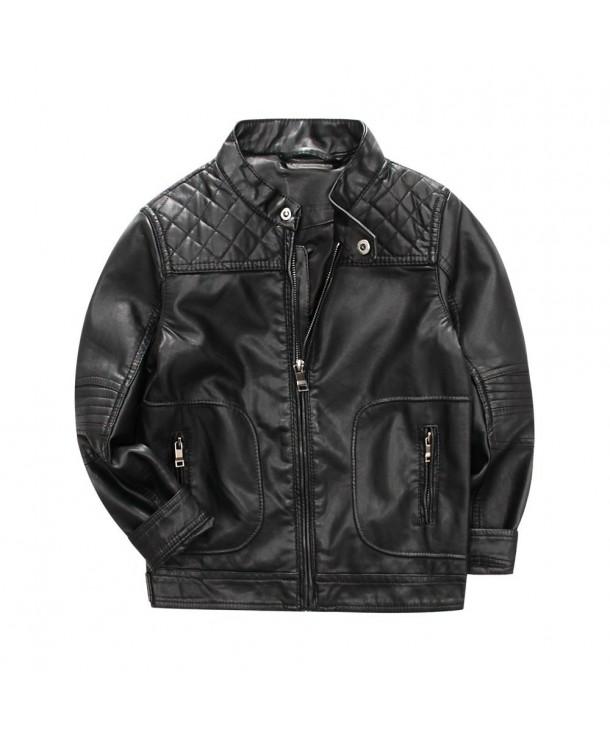LJYH Motocycle Leather Jacket Classic