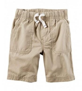 Carters Toddler Boys Khaki Shorts