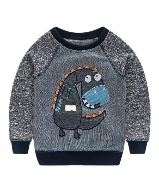 LittleSpring Little Sleeve Sweatshirt Animal
