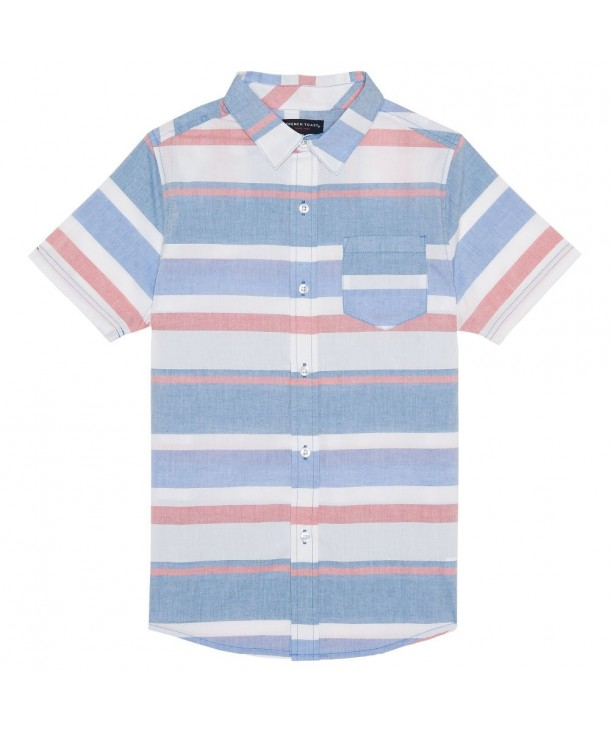 French Toast Short Sleeve Woven