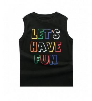 Designer Boys' Tank Top Shirts Outlet Online
