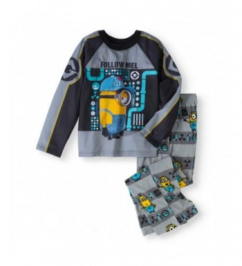 Despicable Sleeve Fleece Pants Pajama
