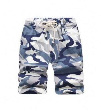 LOKTARC Boys Pull Cargo Shorts