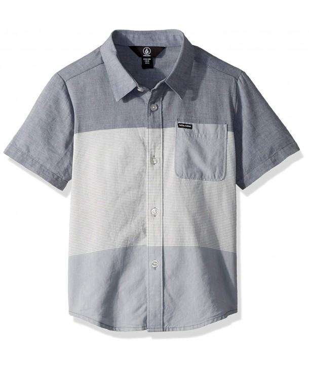 Volcom Crestone Sleeve Button Little