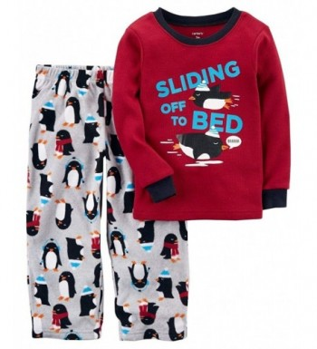 Carters 12M 14 Sliding Penguin Pajamas