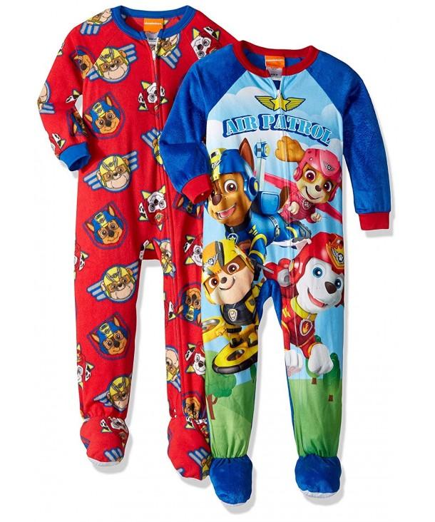Nickelodeon Toddler Patrol Blanket Sleepers