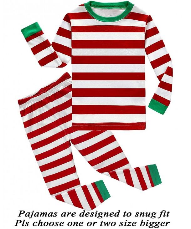 Christmas Pajamas Toddler Clothes Sleepwear
