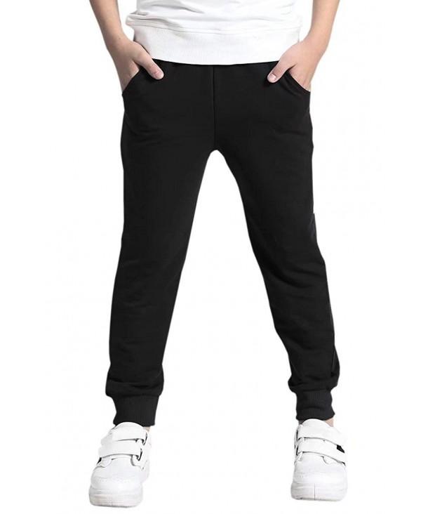 AOWKULAE Cotton Sweatpants Jogger Trousers