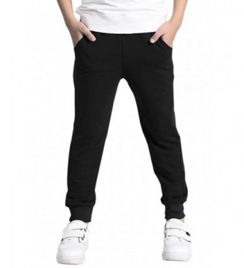 AOWKULAE Cotton Sweatpants Jogger Trousers