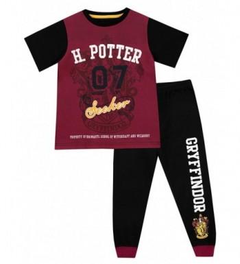 Harry Potter Boys Gryffindor Pajamas