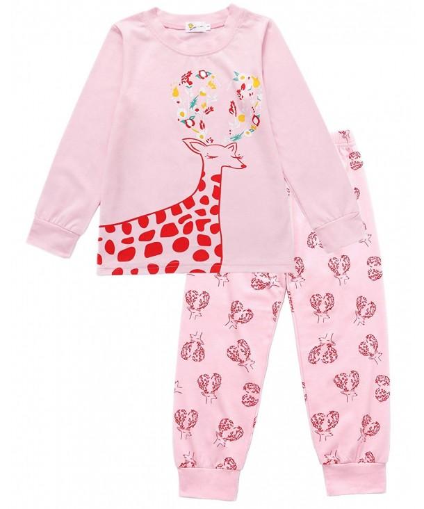 DDSOL Pajamas Clothes Children Sleepwear