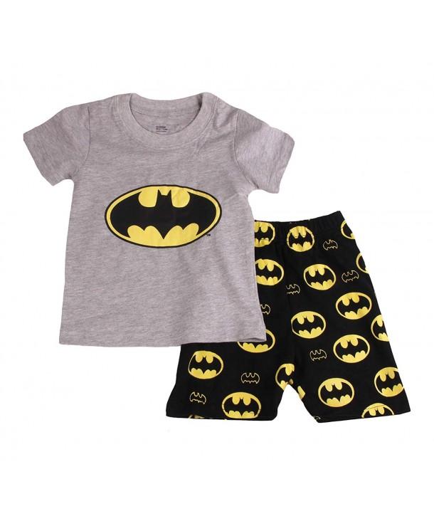 Shorts Piece Pajama Cotton 6Mos 14Yrs