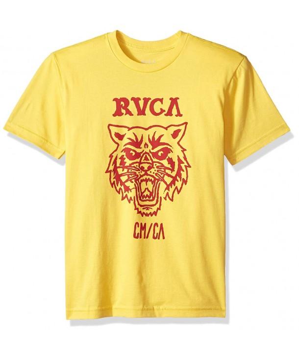 RVCA Mascot Short Sleeve T Shirt