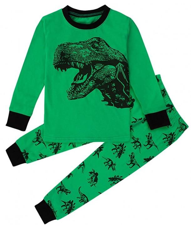 DESIGN Funny Dinosaur Pajamas Sleeve