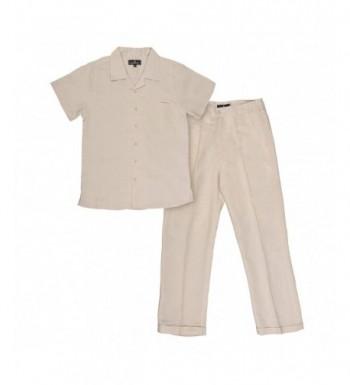 Vittorino Summer Linen Piece Sleeve