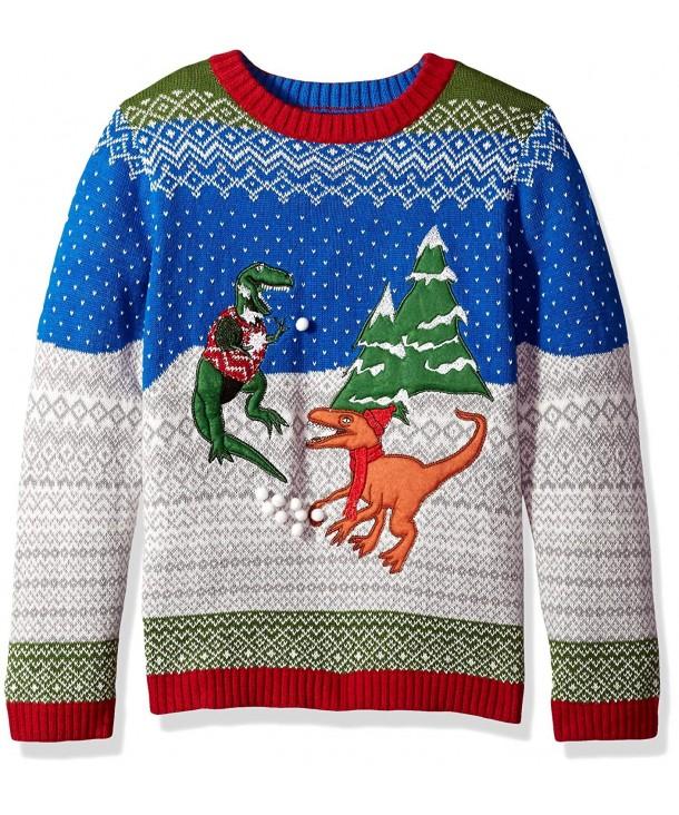 Blizzard Bay Dinosaur Fight Sweater