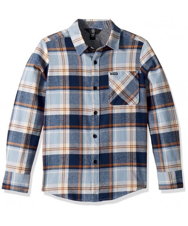 Volcom Caden Sleeve Flannel Button