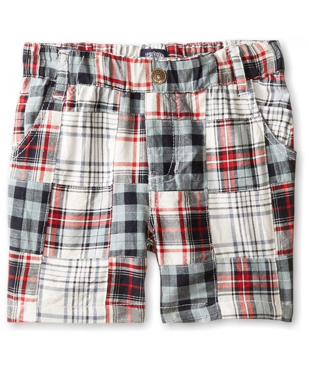 Little Traveler Patchwork Sailing Shorts