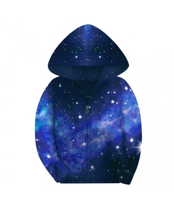 SAYM Galaxy Jackets Fleece Hooded