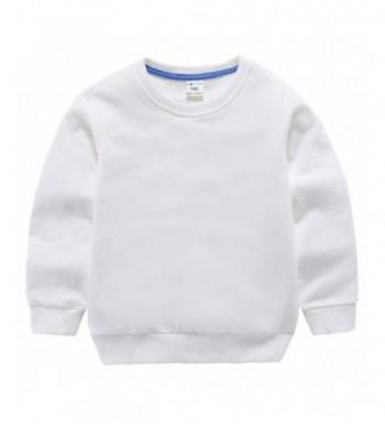 HAXICO Pullover Sweatshirt Toddler Crewneck