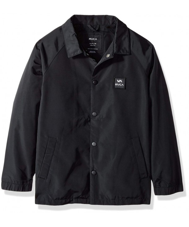 RVCA Boys Big Coaches Jacket