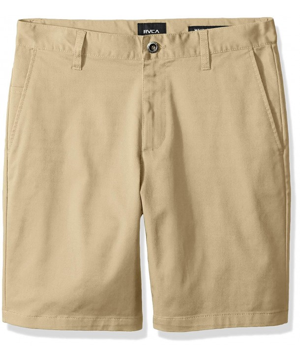 RVCA Boys Weekday Stretch Short