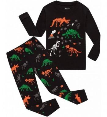 shelry Pajamas Dinosaur Children Sleepwear