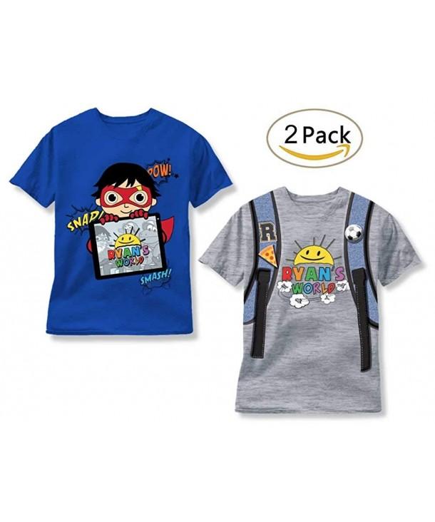 Ryans World 2 Pack T Shirts