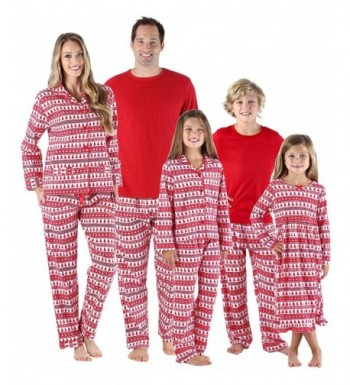 SleepytimePjs Holiday Family Matching Flannel
