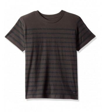 RVCA Boys Stripe Short Sleeve