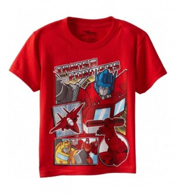 Transformers Boys Short Sleeve T Shirt