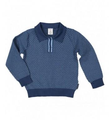 Polarn Pyret Textured Collar Sweater