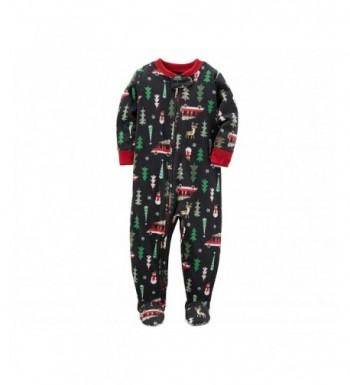 Carters Piece Christmas Fleece Pajamas