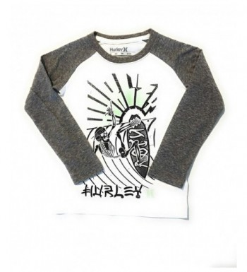 Hurley Little Skeleton T Shirt Heather