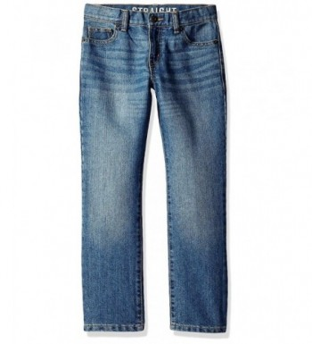 Crazy Boys Basic Straight Jeans