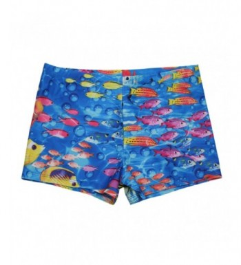 CHICTRY Swimming Sea Fish Pattern Underpants
