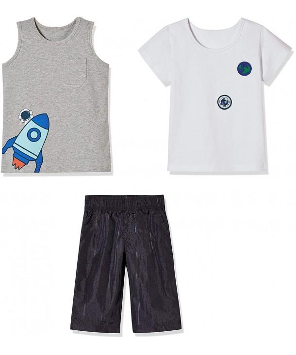 Sprout Star Rocket T Shirt Shorts