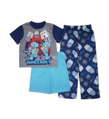 Minecraft Little Boys 3 Piece Pajama