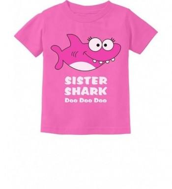 Tstars Sister Shark Toddler T Shirt