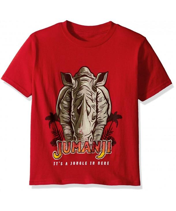 Jumanji Boys Welcome Jungle T Shirt