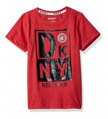 DKNY Sleeve Heather Jersey T Shirt